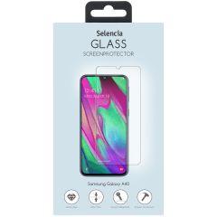 Selencia Gehard Glas Screenprotector Samsung Galaxy A40