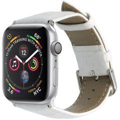 iMoshion Krokodil leder bandje Apple Watch Series 1-7 / SE -42/44