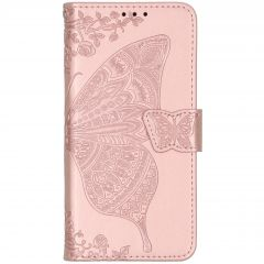 Vlinder Softcase Booktype Xiaomi Mi 9T (Pro) - Rosé Goud