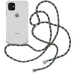 iMoshion Backcover met koord iPhone 11 - Groen