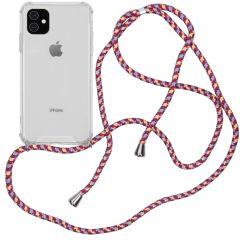 iMoshion Backcover met koord iPhone 11 - Paars