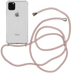 iMoshion Backcover met koord iPhone 11 Pro Max - Rosé Goud