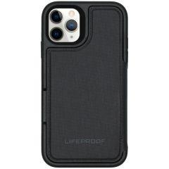 LifeProof Flip Wallet Case iPhone 11 Pro - Zwart