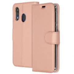 Accezz Wallet Softcase Booktype Samsung Galaxy A40 - Rosé Goud