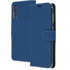 Accezz Wallet Softcase Booktype Samsung Galaxy A50 / A30s - Blauw