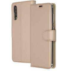 Accezz Wallet Softcase Booktype Samsung Galaxy A50 / A30s - Goud