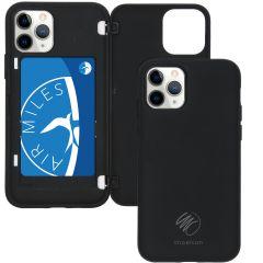 iMoshion Backcover met pashouder iPhone 11 Pro - Zwart
