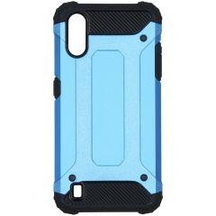 iMoshion Rugged Xtreme Backcover Samsung Galaxy A01 - Lichtblauw