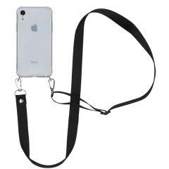 iMoshion Backcover met koord - Nylon iPhone Xr - Zwart