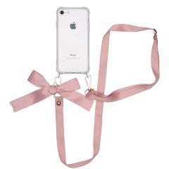 iMoshion Backcover met koord - Satijn iPhone SE (2020) / 8 / 7
