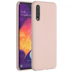 Accezz Liquid Silicone Backcover Samsung Galaxy A50 / A30s - Roze