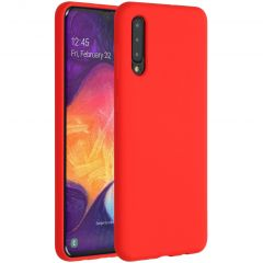 Accezz Liquid Silicone Backcover Samsung Galaxy A50 / A30s - Rood