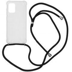 iMoshion Backcover met koord Samsung Galaxy A71 - Zwart