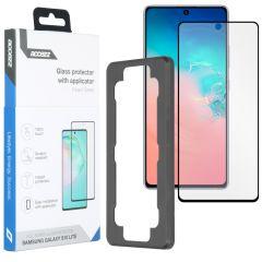 Accezz Glass Screenprotector + Applicator Samsung Galaxy S10 Lite