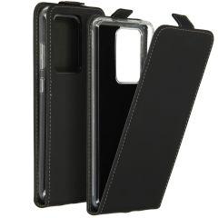 Accezz Flipcase Samsung Galaxy S20 Ultra - Zwart