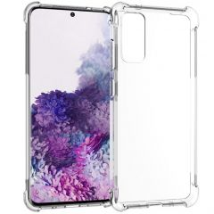 iMoshion Shockproof Case Samsung Galaxy S20 - Transparant