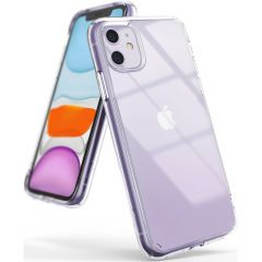 Ringke Fusion Matte Backcover iPhone 11 - Transparant