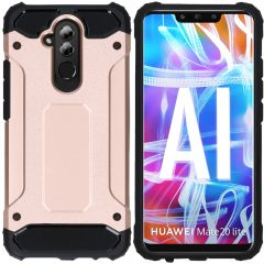 iMoshion Rugged Xtreme Backcover Huawei Mate 20 Lite - Rosé Goud