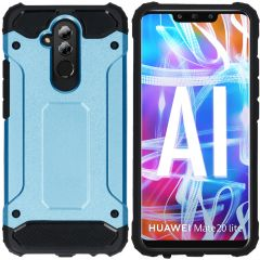 iMoshion Rugged Xtreme Backcover Huawei Mate 20 Lite - Lichtblauw