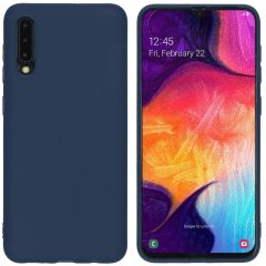 iMoshion Color Backcover Samsung Galaxy A50 / A30s - Donkerblauw