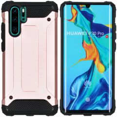 iMoshion Rugged Xtreme Backcover Huawei P30 Pro - Rosé Goud