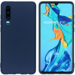 iMoshion Color Backcover Huawei P30 - Donkerblauw
