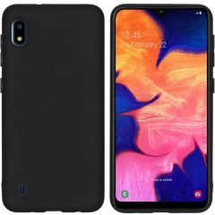 iMoshion Color Backcover Samsung Galaxy A10 - Zwart