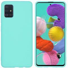 iMoshion Color Backcover Samsung Galaxy A51 - Mintgroen