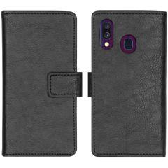 iMoshion Luxe Booktype Samsung Galaxy A40 - Zwart