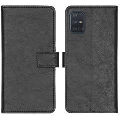 iMoshion Luxe Booktype Samsung Galaxy A71 - Zwart