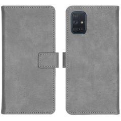iMoshion Luxe Booktype Samsung Galaxy A71 - Grijs