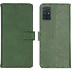iMoshion Luxe Booktype Samsung Galaxy A71 - Groen
