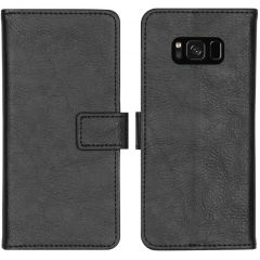 iMoshion Luxe Booktype Samsung Galaxy S8 - Zwart