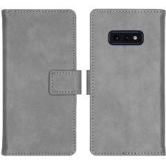 iMoshion Luxe Booktype Samsung Galaxy S10e - Grijs