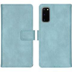 iMoshion Luxe Booktype Samsung Galaxy S20 - Lichtblauw