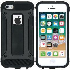 iMoshion Rugged Xtreme Backcover iPhone SE / 5 / 5s - Zwart
