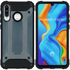 iMoshion Rugged Xtreme Backcover Huawei P30 Lite - Donkerblauw