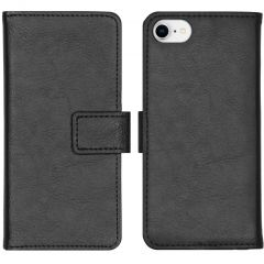 iMoshion Luxe Booktype iPhone SE (2020) / 8 / 7 / 6(s) - Zwart