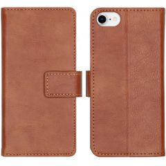 iMoshion Luxe Booktype iPhone SE (2020) / 8 / 7 / 6(s) - Bruin