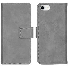 iMoshion Luxe Booktype iPhone SE (2020) / 8 / 7 / 6(s) - Grijs