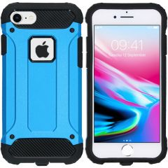 iMoshion Rugged Xtreme Backcover iPhone 8 / 7 - Lichtblauw