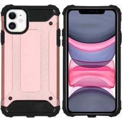 iMoshion Rugged Xtreme Backcover iPhone 11 - Rosé Goud
