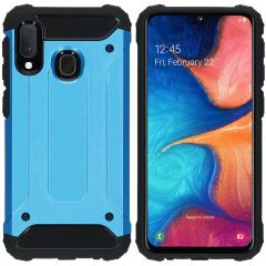 iMoshion Rugged Xtreme Backcover Samsung Galaxy A20e - Lichtblauw