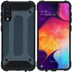 iMoshion Rugged Xtreme Backcover Samsung Galaxy A50 / A30s - Donkerblauw