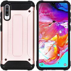 iMoshion Rugged Xtreme Backcover Samsung Galaxy A70 - Rosé Goud