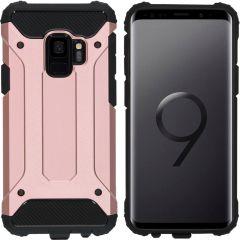 iMoshion Rugged Xtreme Backcover Samsung Galaxy S9 - Rosé Goud