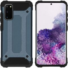 iMoshion Rugged Xtreme Backcover Samsung Galaxy S20 - Donkerblauw