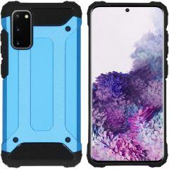 iMoshion Rugged Xtreme Backcover Samsung Galaxy S20 - Lichtblauw
