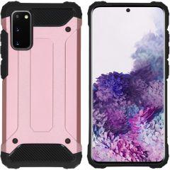 iMoshion Rugged Xtreme Backcover Samsung Galaxy S20 - Rosé Goud