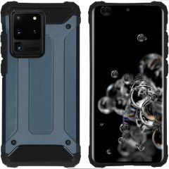 iMoshion Rugged Xtreme Backcover Galaxy S20 Ultra - Donkerblauw